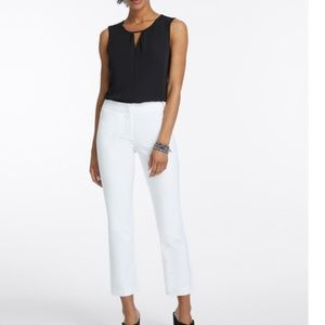 NWT Nic & Zoe Perfect Pant front zip size 4